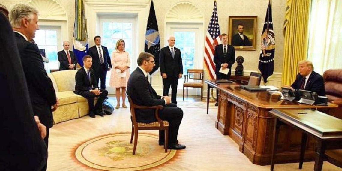В Сербии возмущены постом Захаровой о сербской делегации в США