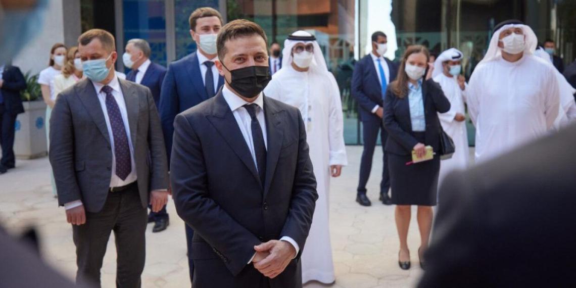 Журналистка рассказала о позоре Зеленского в ОАЭ