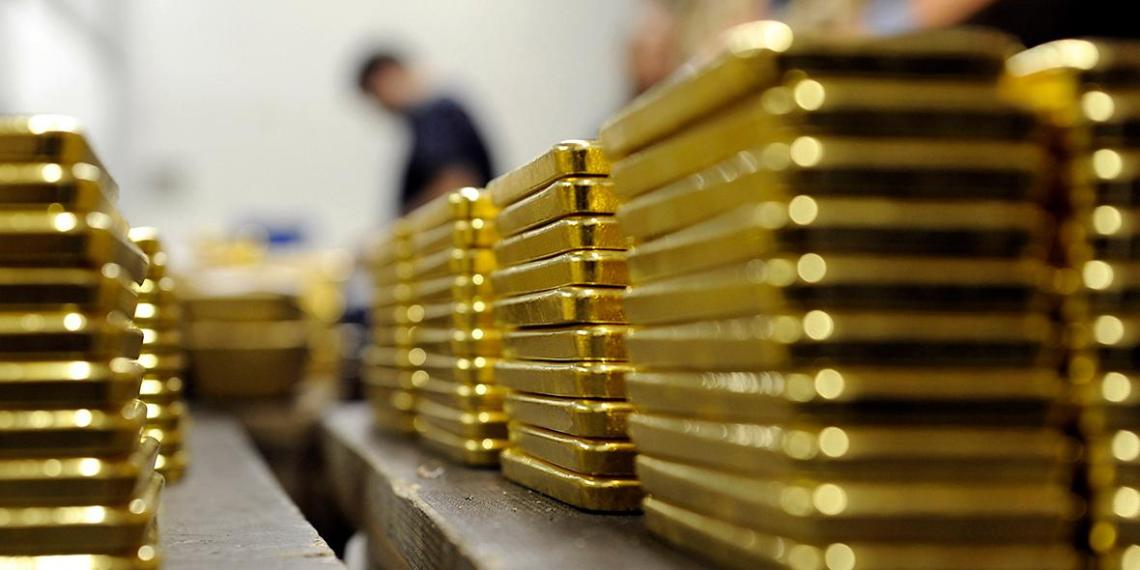 Россия продала Великобритании золото на рекордные 5,3 млрд долларов