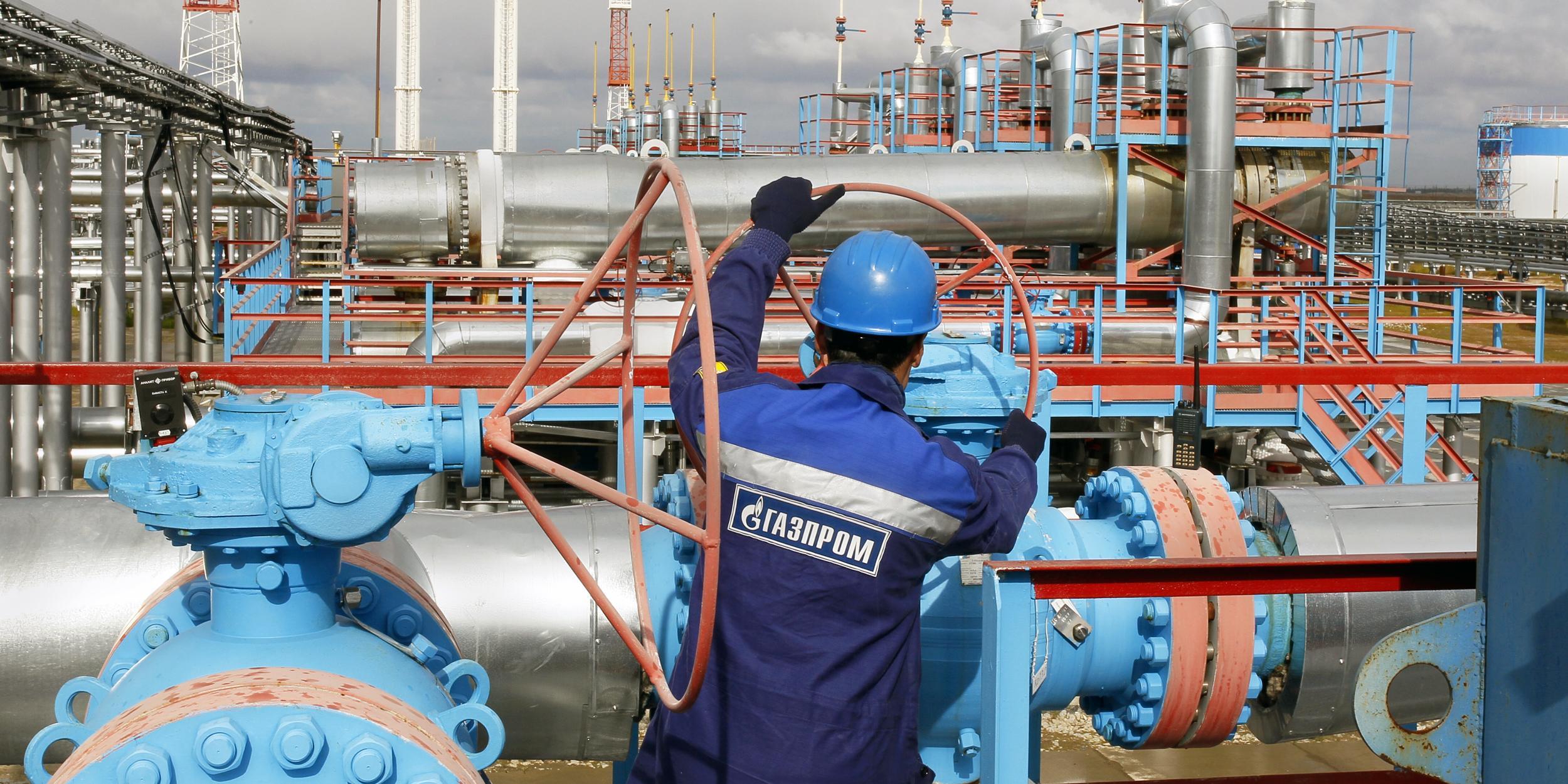 """Газпром"" поставил за рубеж рекордное количество газа"