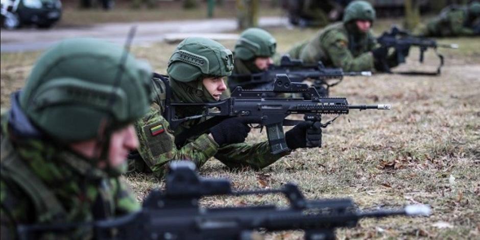 Литовские военные подрались на учениях в Германии