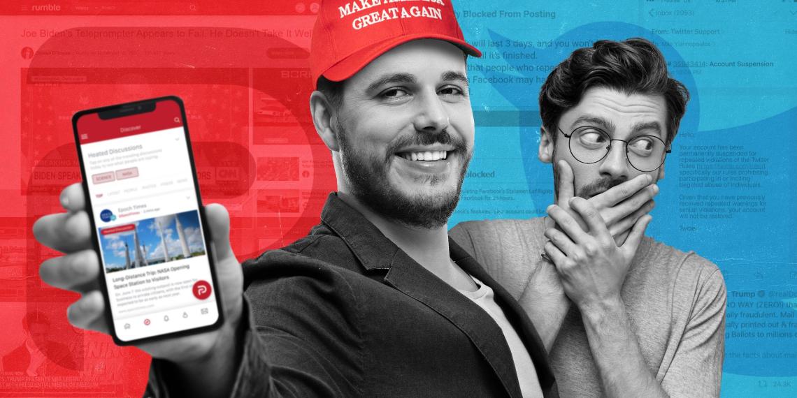 Медийная революция: куда американцы бегут из Twitter и Facebook за контентом без цензуры