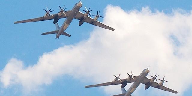 Минобороны РФ: наши самолеты пролетая около Британии, ничего не нарушили