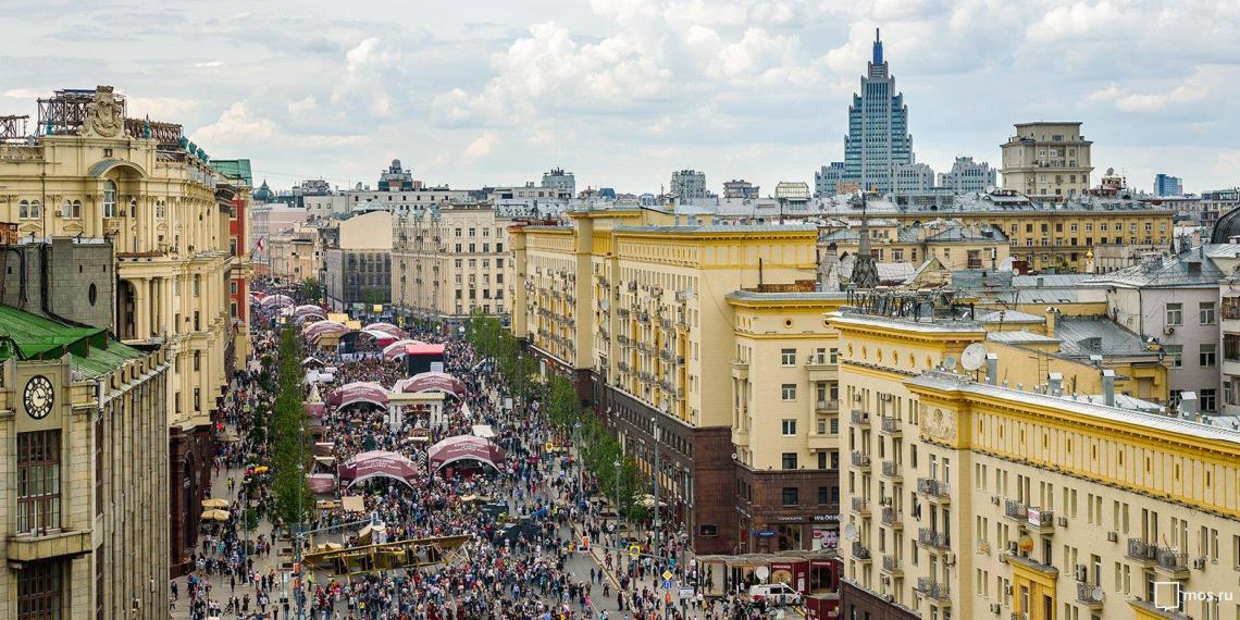 """Фестиваль """"День России. Московское время"""" посетили около 650 тысяч горожан"""