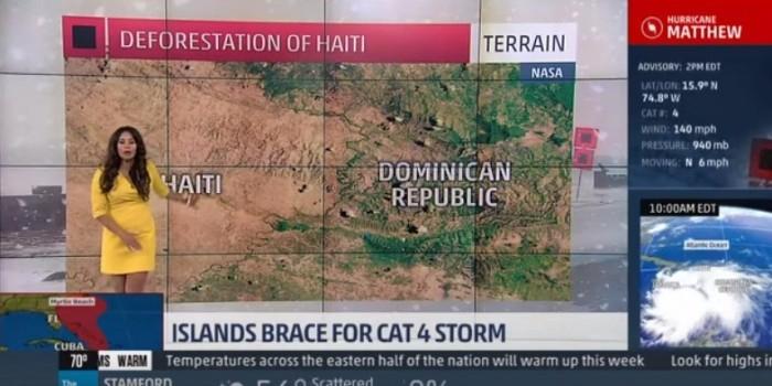 В США телеведущая рассказала, что на Гаити дети съели все деревья