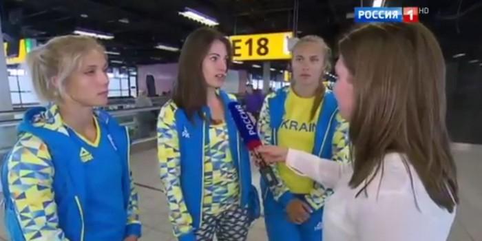 """С украинскими олимпийцами """"жестко поговорили"""" после их интервью российским СМИ"""