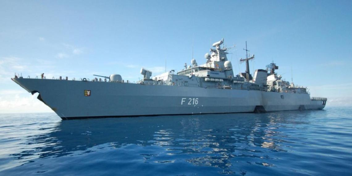 Германия отправила фрегат для сдерживания Китая в Индо-Тихоокеанский регион