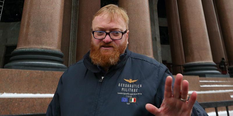 """Милонов назвал """"вонючими лесбиянками"""" авторов законопроекта о харассменте"""