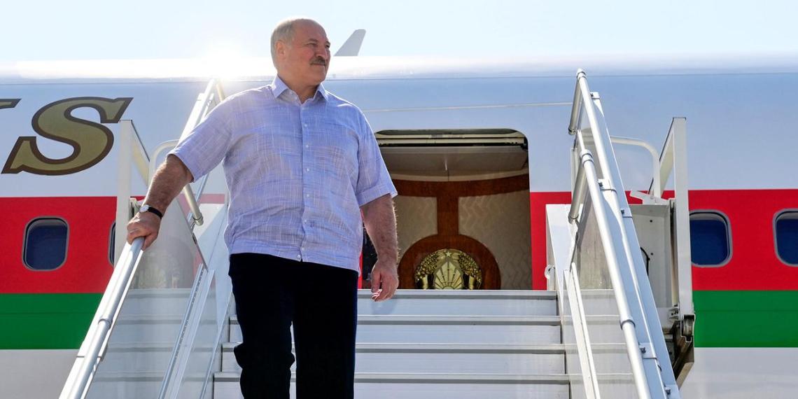 В Германии рабочие отказались обслуживать самолет Лукашенко