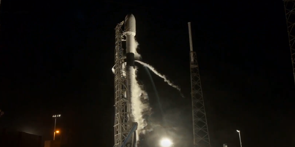 Ракета Falcon 9 вывела на орбиту 58 спутников глобального интернета Starlink